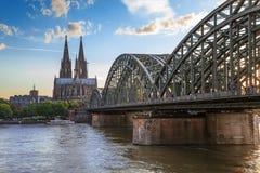 Cologne Tyskland arkivfoto