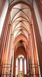 Cologne Tyskland - 15 Augusti 2015: Cologne domkyrka arkivbild