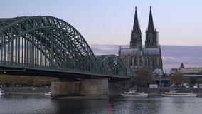 Cologne Tyskland, Europa arkivfilmer