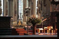 COLOGNE TYSKLAND - SEPTEMBER 25, 2016: Domkyrkan är Tyskland Fotografering för Bildbyråer