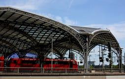 colognejärnvägstation Royaltyfri Bild
