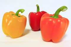 Coloirful pepper Royalty Free Stock Photos