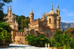 Colomares castle Royalty Free Stock Images