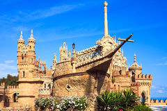 Colomares castle Royalty Free Stock Photography