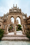 Colomares Castle. Benalmadena town. Spain Stock Photos