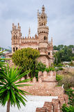 Colomares Castle. Benalmadena town. Spain Royalty Free Stock Photography