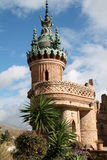 Colomares-Schloss, Benalmadena Spanien Stockfoto