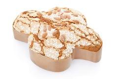 Colomba,意大利人复活节蛋糕 库存图片