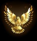 Colomba dell'oro royalty illustrazione gratis
