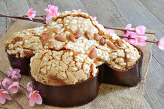 Colomba easter cake Stock Image