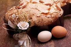 Colomba And Eggs Royalty Free Stock Photo
