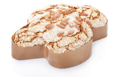 Colomba, italian Easter cake in fom of a dove Royalty Free Stock Image