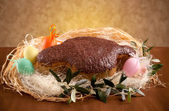 Colomba pasquale (Easter Dove) Stock Image