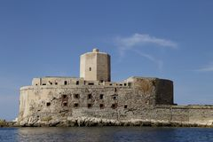 ` colombaia `特拉帕尼西西里岛监狱  免版税库存图片
