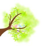 Colombe royalty illustrazione gratis