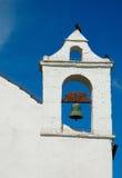 Colombe de cloche d'église Photos stock