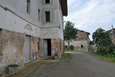 Colomberone-Bauernhaus stockfoto