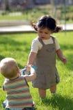 Colombes 5 de Enfants imagen de archivo libre de regalías