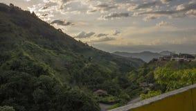 Colombia - Antioquia - härligt landskap MedellÃn - Santa Fe Royaltyfri Fotografi