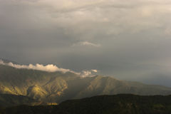 Colombia - Bergen in de Siërra Nevada DE Santa Marta Stock Afbeelding