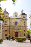 Colombia. Cartagena. The Cathedral Of San Pedro Claver. Stock Image