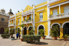 Colombia. Cartagena. Old town. Royalty Free Stock Photos