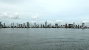 Colombia - Cartagena Skyscapers stock video footage