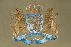Dutch coat of arms Royalty Free Stock Image