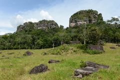Colombia. N landscape near the town of San Jose del Guavere Stock Photography