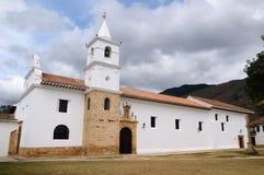 Colombia, Colonial architecture of Villa de Leyva Stock Photos