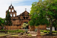 Colombia, Colonial village of Guane Royalty Free Stock Images