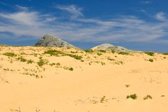 Colombia, desert of Penisula la Guajira Stock Images