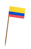 colombia flagę Obrazy Royalty Free