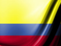 Colombia Flag Stock Image