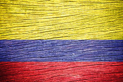 Colombia Flag Royalty Free Stock Photography