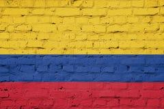 colombia flagga Fotografering för Bildbyråer