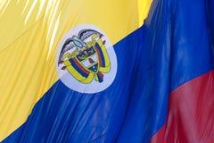 colombia flagga Arkivbild