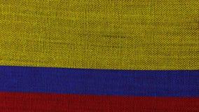 Colombia flagga vektor illustrationer