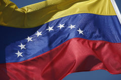 colombia flagga Arkivfoto