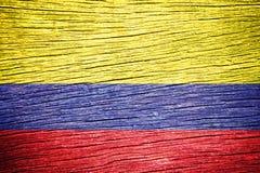 Colombia flagga Royaltyfri Fotografi