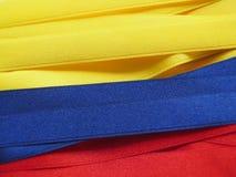 Colombia flagga eller baner Royaltyfria Foton