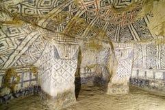 Colombia forntida tomb i Tierradentro Royaltyfri Fotografi