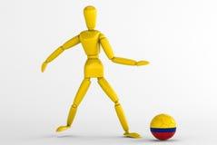 Colombia fotboll Arkivbilder