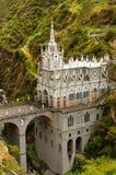 Colombia fristad av oskulden av Las Lajas Arkivbilder