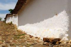Colombia, Koloniaal dorp van Guane Royalty-vrije Stock Fotografie