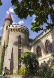 Colombia - Medellin, Antioquia - El Castillo, museum och trädgård Fotografering för Bildbyråer