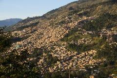 Colombia - Medellin, Antioquia - horisont av staden Royaltyfria Foton