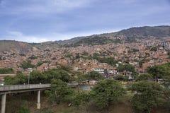 Colombia - Medellin, Antioquia - horisont av staden Royaltyfri Fotografi