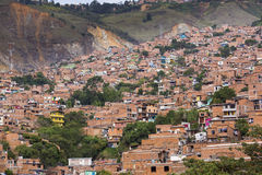 Colombia - Medellin, Antioquia - Horizon van de stad royalty-vrije stock afbeeldingen