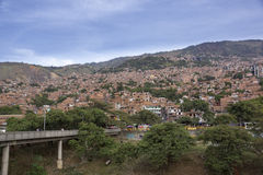 Colombia - Medellin, Antioquia - Skyline of the city. Picture of the skyline of Medellín, Colombia royalty free stock photography